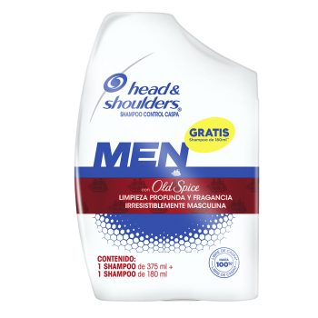Shampoo head & shoulders old spice 375ml gratis shampoo 180ml (promo)