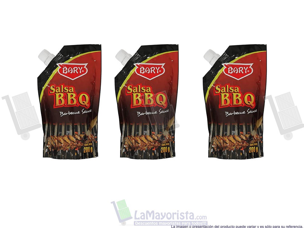 Salsa barbecue Bbq Bary 200Gr.