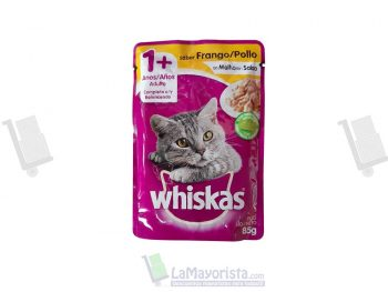 Sobre whiskas adulto pollo x 85gr