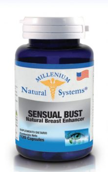 Sensual bust 120 capsules millenium -natural systems