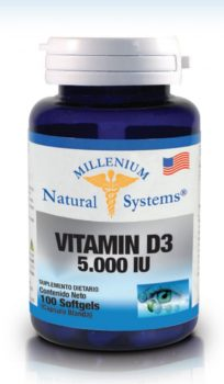 Vitamina d3 5.000 iu  100 softgels