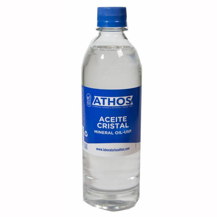 Aceite mineral cristal x 500 ml