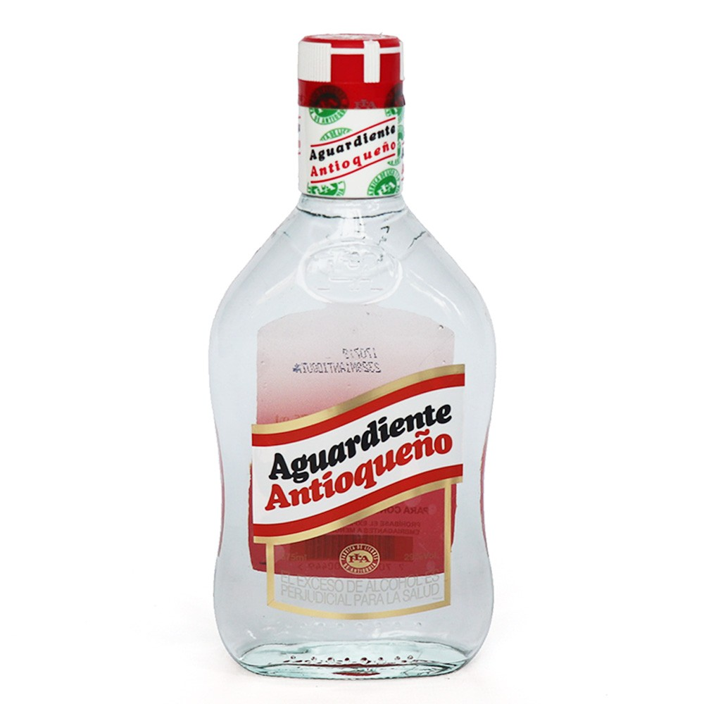 AGUARDIENTE ANT MEDIA FLA *375ML