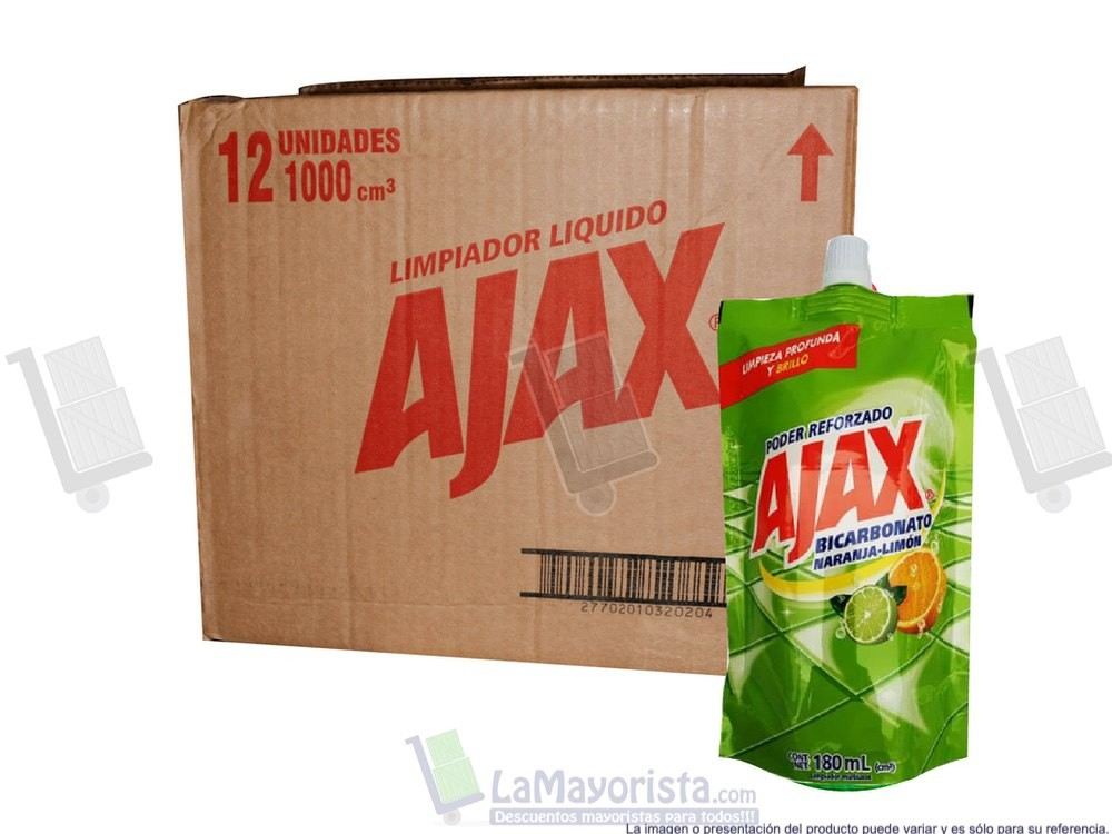 Ajax bicarbonato x 180ml.
