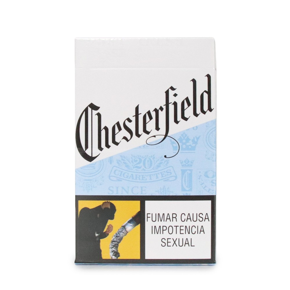 CIGARRILLO CHESTERFIELD WHITE KSBOX 20CJ