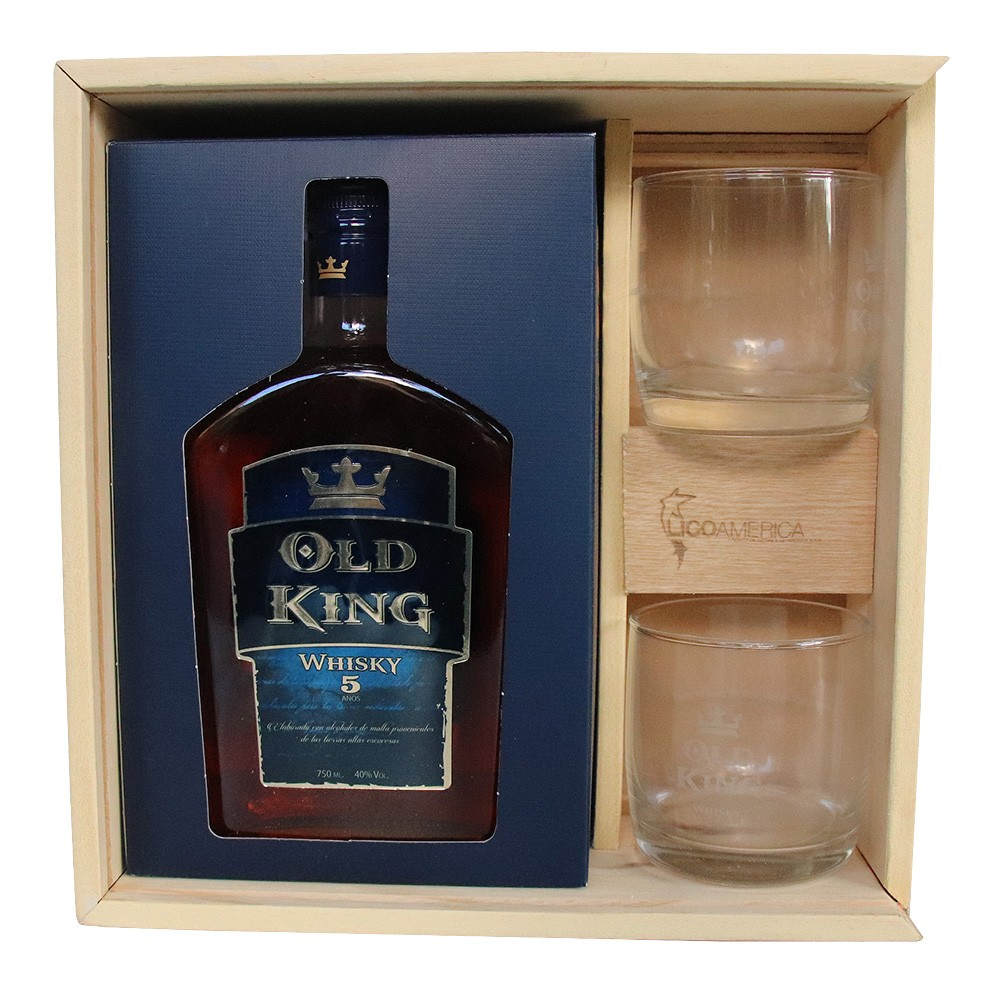 WHISKY OLD KING ED ESPECIAL 6*750ML